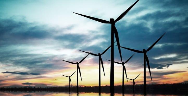 Wind and Turbine